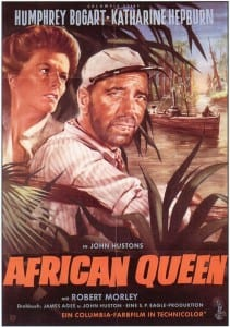 African Quejen safari movie DVD cover