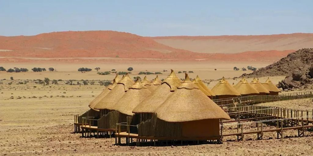 Sossus Dunes Lodge, one of africas most luxury safari lodges