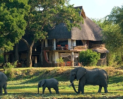 Luangwa Safari House, one of the most luxurious in Africa