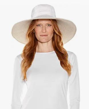 Coolibar Wide Brim Sun Hat