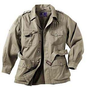 mens safari bush jacket