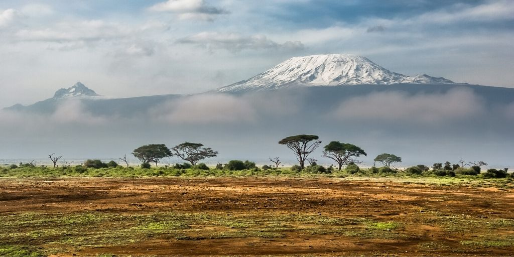 Mount Kilimanjaro - one of the seven african natural wonders