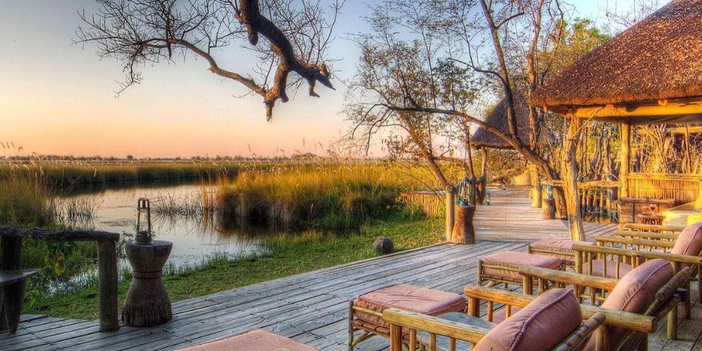 Okavango Delta views from Xakanaxa Camp