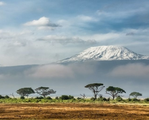 Mount Kilimanjro, tallest mountain in Africa