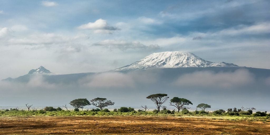 Mount Kilimanjro, tallest mountain in Africa