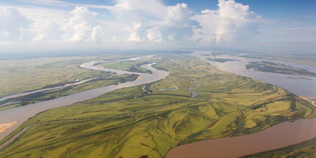 Amur River – 4,444 km Russia, China, Mongolia
