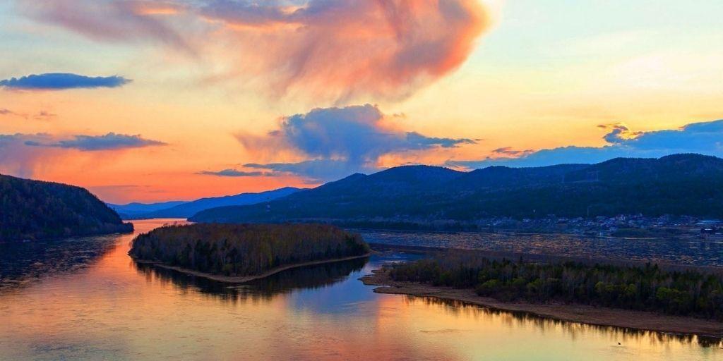 Yenisei - Angara - Selenga River - BiographyFlash.com